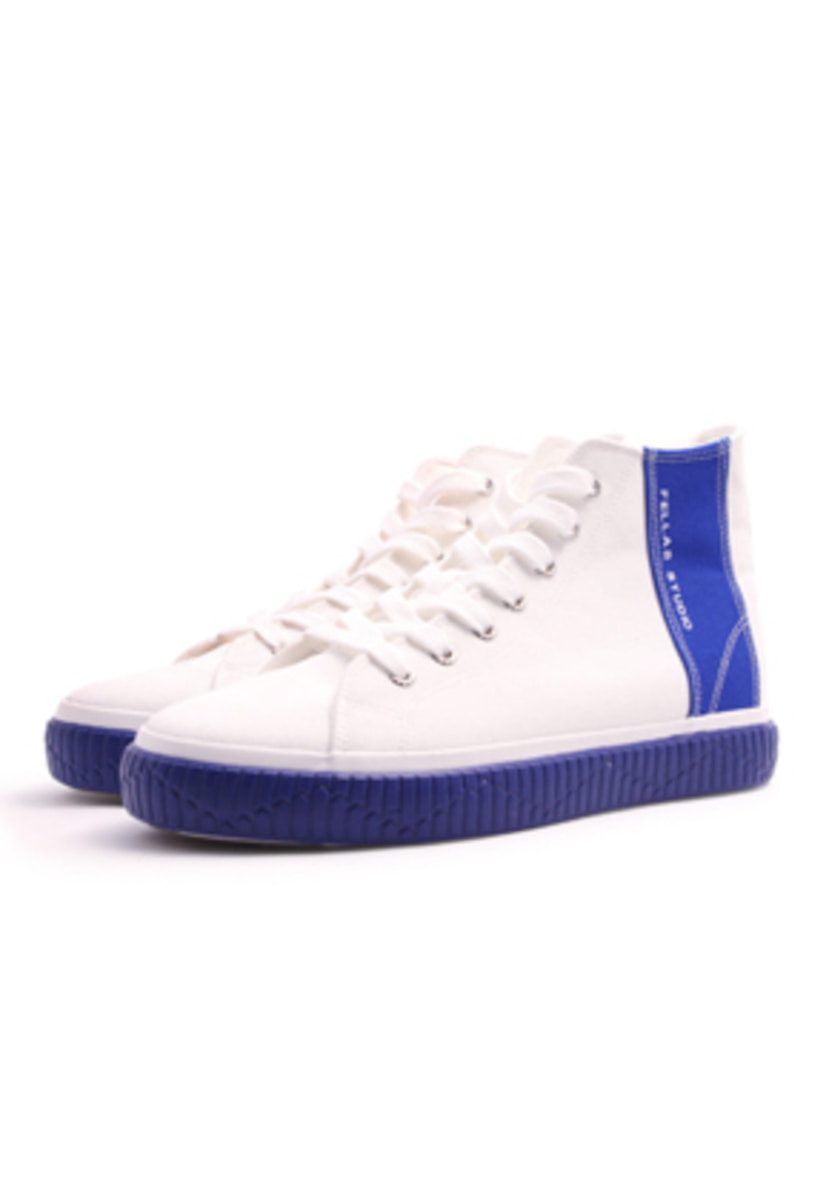 Fellas 1932펠라스 [Fellas Studio] Silhouette Hi White / Royal Blue