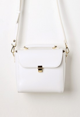 Daisy mini bag (white) - D1005WH