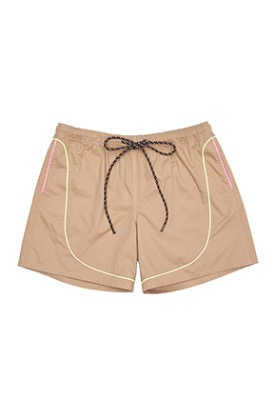 Piping short Beige