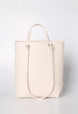 Tulip shoulder bag (cream) - D1002CR