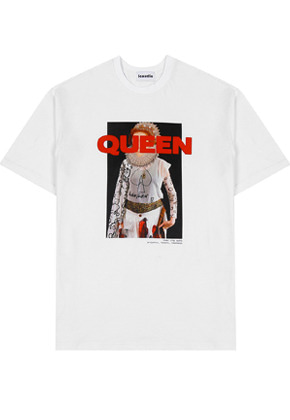QUEEN GRAPHIC T-SHIRTS WHITE