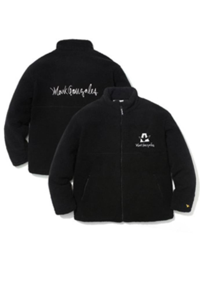M/G BOA ZIP UP JACKET BLACK