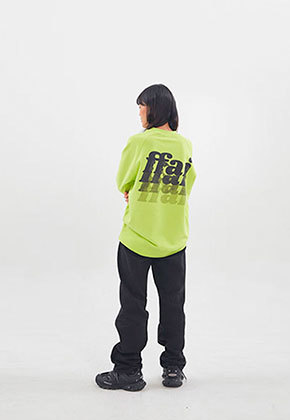 ffai SMALL LOGO SWEAT-SHIRT_Fluorescent