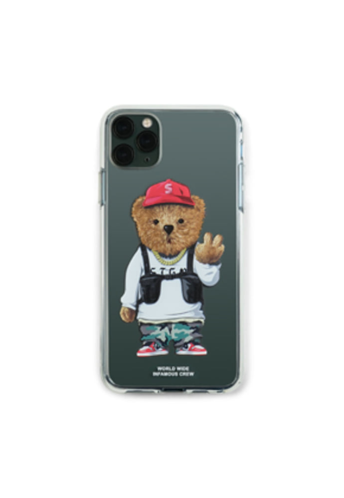 PHONE CASE V BEAR CLEAR iPHONE 11 / 11 Pro / 11 Pro Max