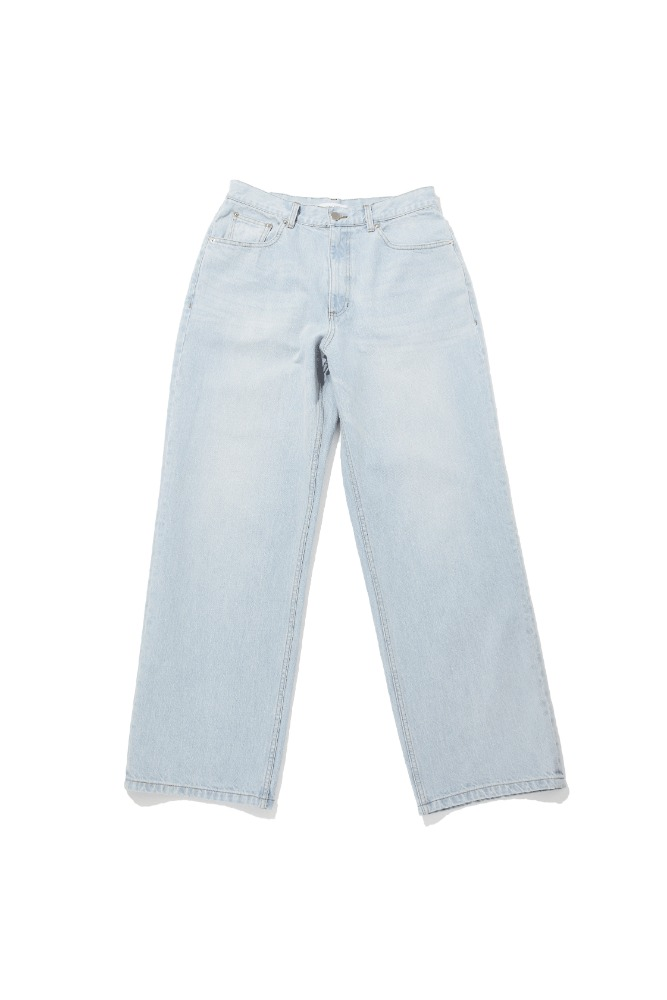 LOREM IPSUM로렘입숨 Light blue washed denim