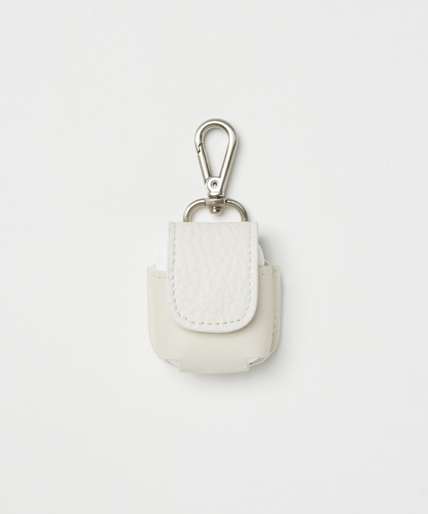 YOUTH유스랩 Leather Airpods Case White