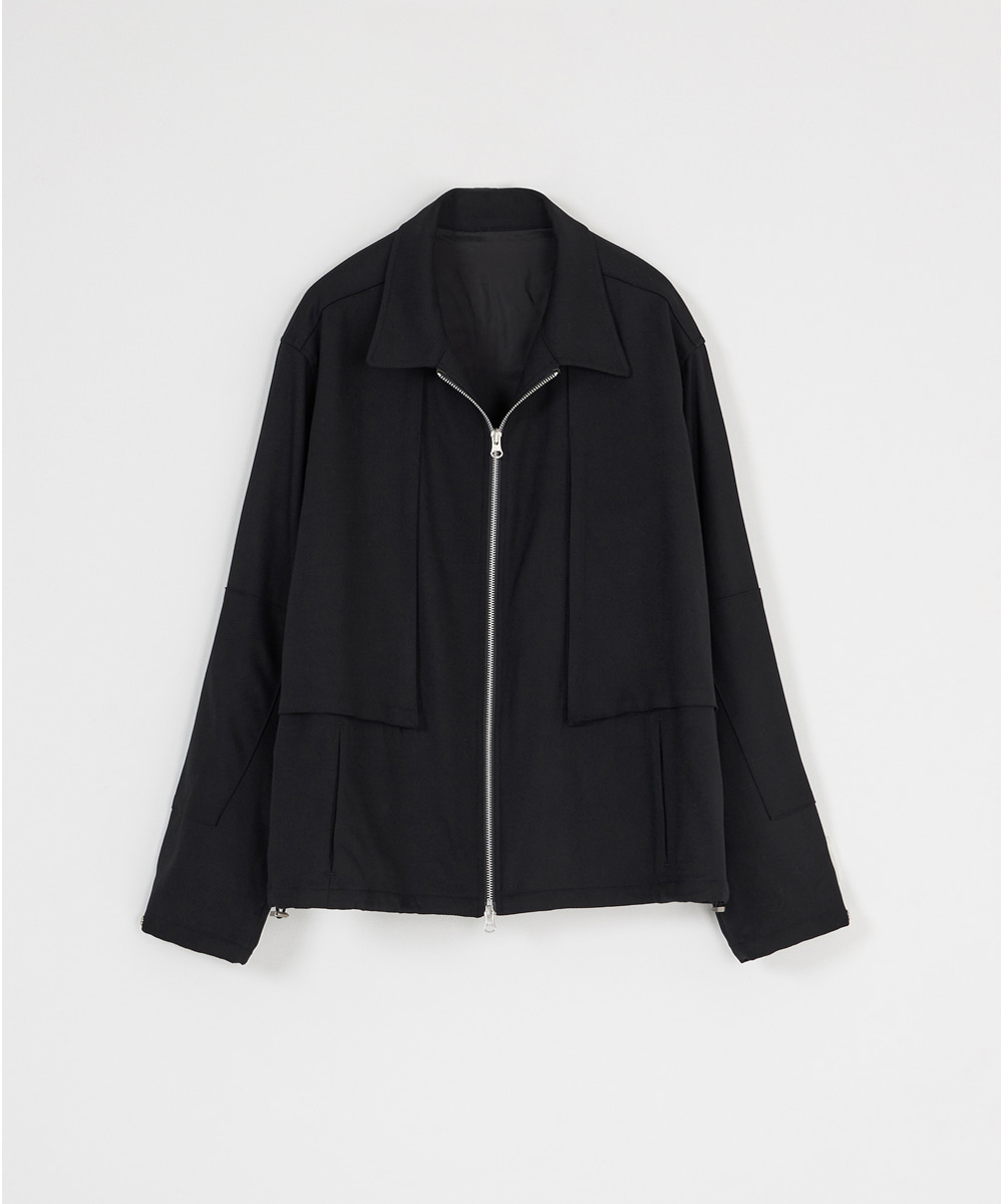 YOUTH유스랩 Drizzler Jacket Black