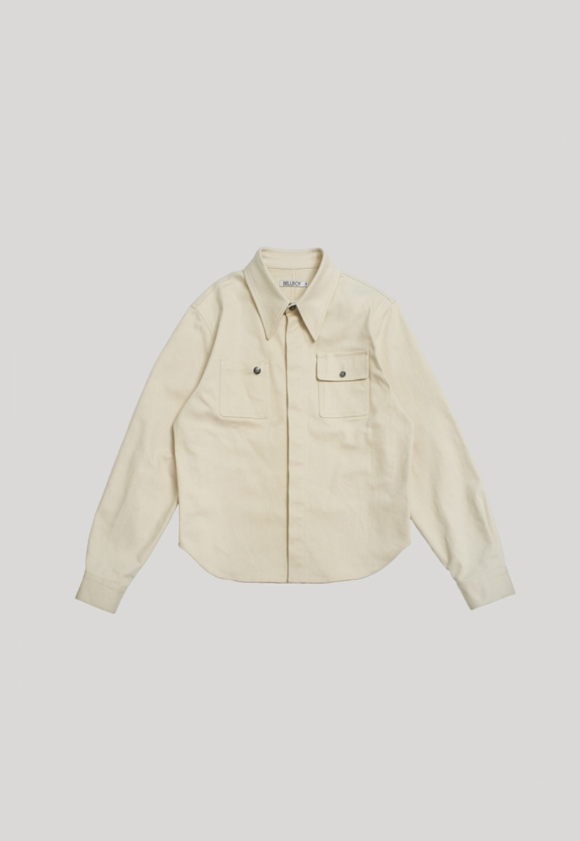 BELLBOY벨보이 Uniform Overshirts - Baker