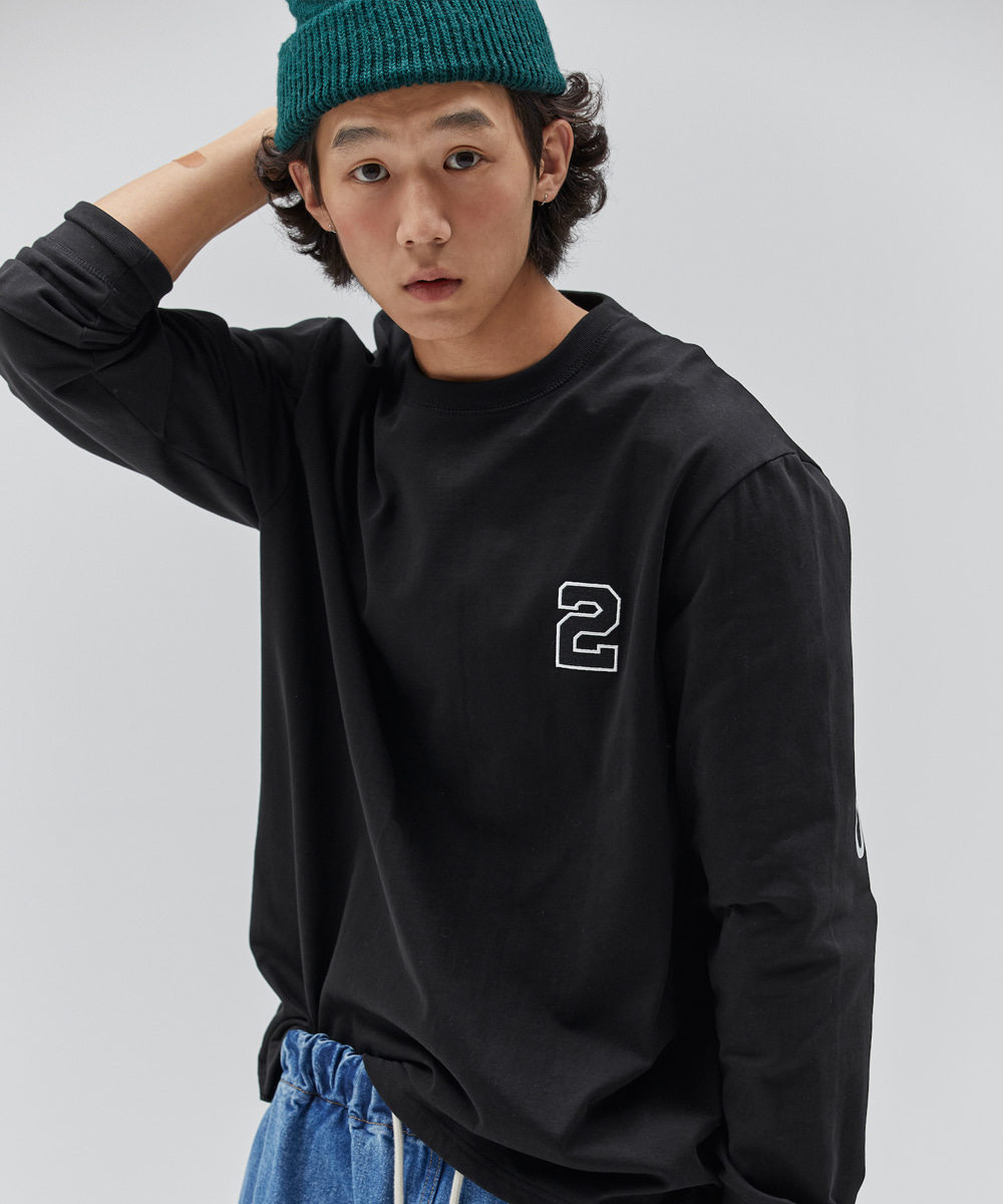 NOHANT노앙 2020 LONG SLEEVE T SHIRT BLACK