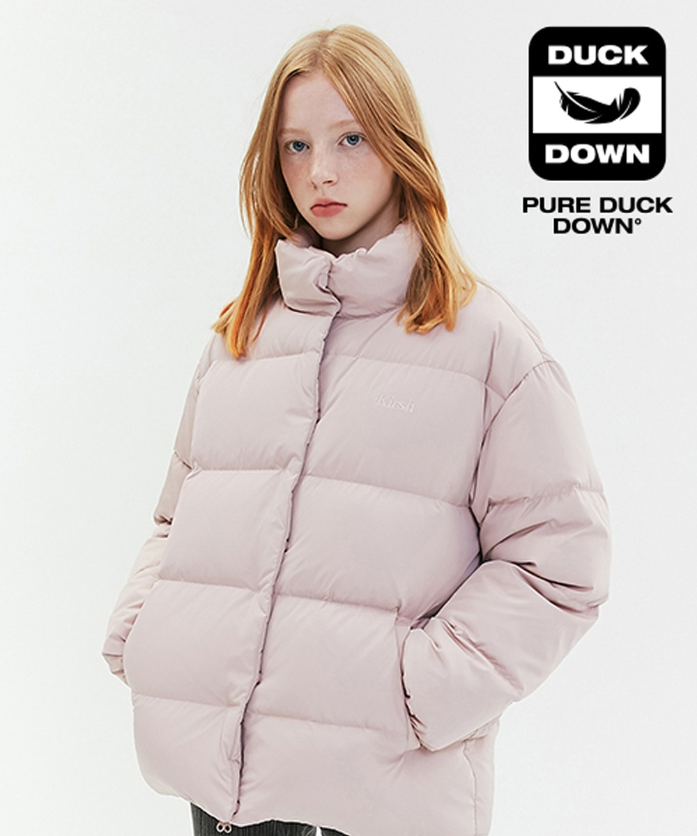KIRSH키르시 OVERSIZED DOWN PADDING JA [CORAL PINK]