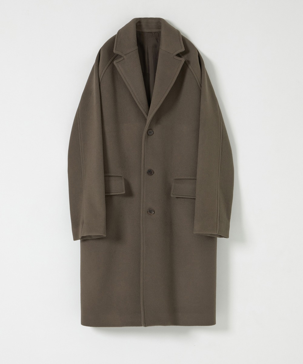 YOUTH유스랩 Chesterfield Coat Khaki