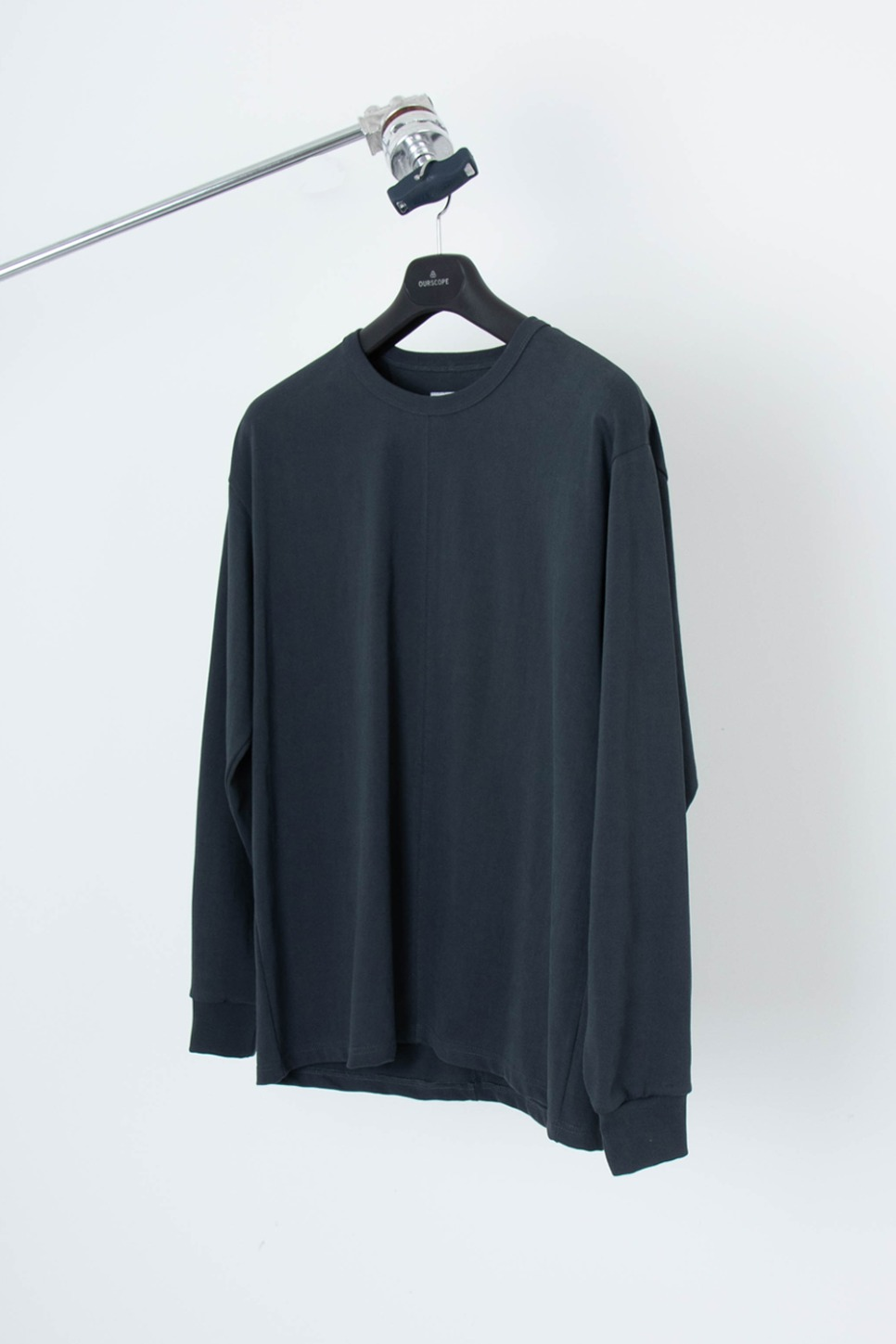 OURSCOPE아워스코프 Two Paneled Long Sleeve (Charcoal)