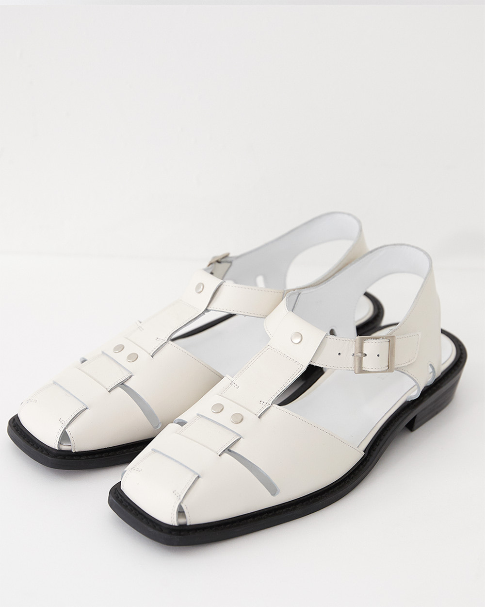 HALEINE알렌느 CREAM fisherman sandal(NH002)