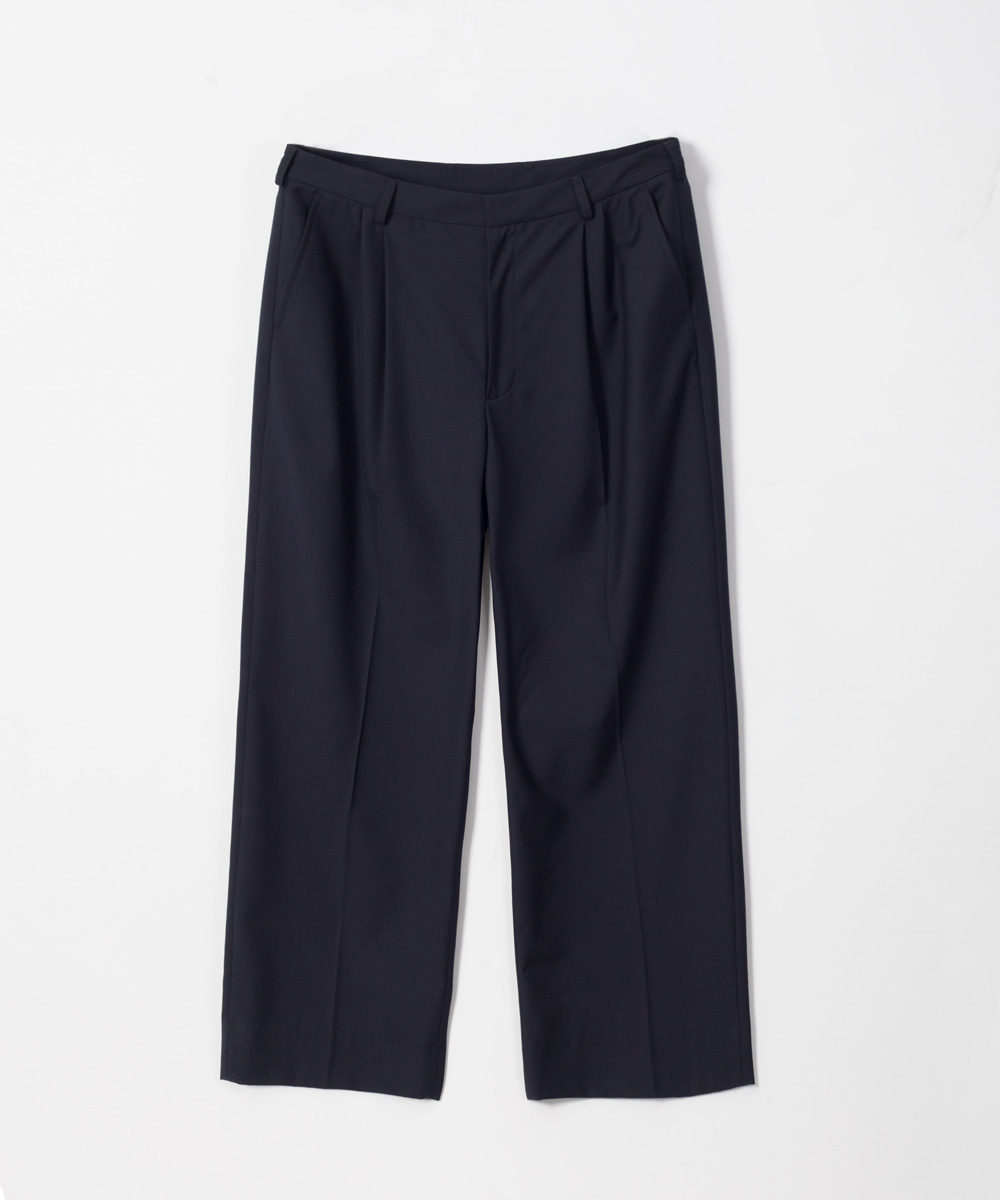 MATISSE THE CURATOR마티스 더 큐레이터 Wide Silhouette Trouser Navy
